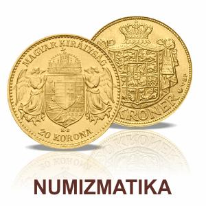 Numizmatikai, klasszikus aranyérmék