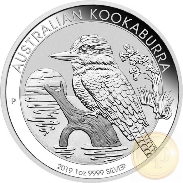 Kookaburra, EZÜST (1/1 uncia) min. rendelhető mennyiség 25 darab!