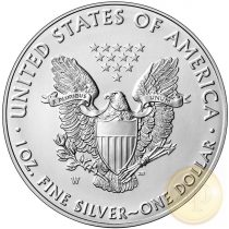 Amerikai Sas, EZÜST (1/1 uncia) min. rendelhető mennyiség 25 darab!