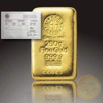 Argor Heraeus, Münze Österreich aranyrúd, 250 gramm