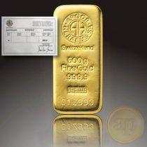 Argor Heraeus, Münze Österreich aranyrúd, 500 gramm