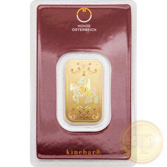 Argor Heraeus, Münze Österreich aranyrúd, 10 gramm