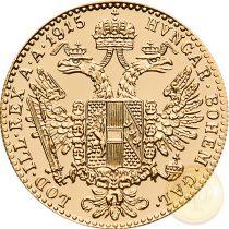 Osztrák-Magyar Mon. - 1 dukát utánv. (3,44 g), 1915