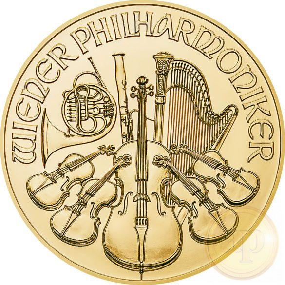 Bécsi Filharmonikusok (1/10 uncia) Ausztria