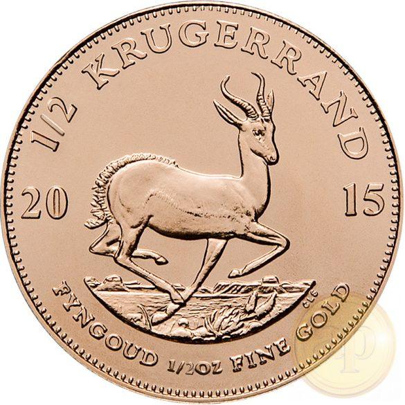 Krugerrand (1/2 uncia) Dél-Afrika