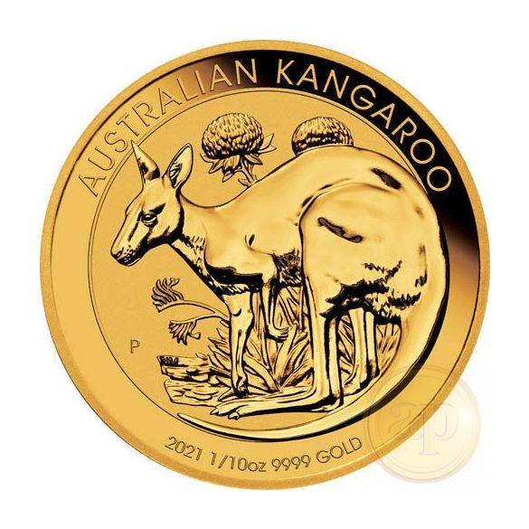 Kenguru - Nugget (1/10 uncia) Ausztrália