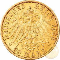 GER/ 20 márka, II. Vilmos, 1888-1913