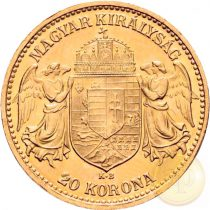 Osztrák-Magyar Monarchia - 20 korona, Ferenc J., 1892-1916, magyar