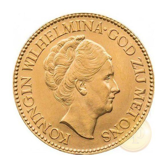 Hollandia - 10 gulden, Wilhelmina, 1911-1933