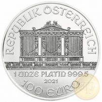 Bécsi Filharmonikusok, PLATINA (1/1 uncia)